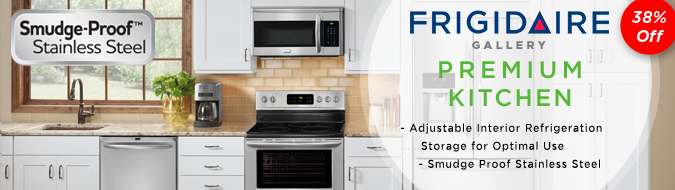 frigidaire gallery series 4 piece kitchen appliance
