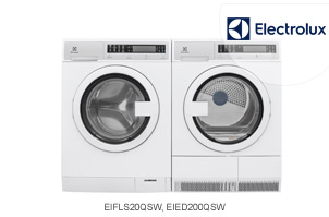 Electrolux Urban Laundry Front-Load Washer + Dryer Pair