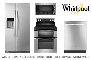 whirlpool kitchen appliance package deals