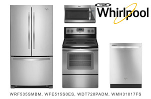 Whirlpool Stainless Steel Kitchen Appliance Package