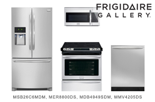 Frigidaire Gallery Series Stainless Steel Kitchen Appliance Package