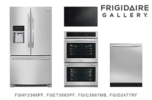 Frigidaire Gallery Stainless Steel 4 Piece Kitchen Appliance Package