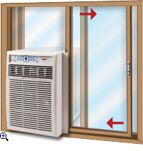 FEDDERS CASEMENT AIR CONDITIONER