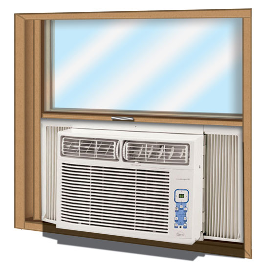 Window ac with heat heat pump window unit bytes the Super insulated windows
